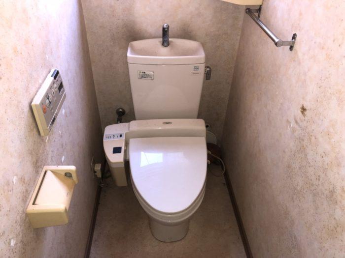 呉市広石内K様 トイレ便器交換リフォーム 施工前