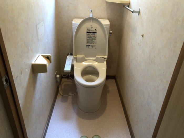 呉市広石内K様 トイレ便器交換リフォーム 施工後