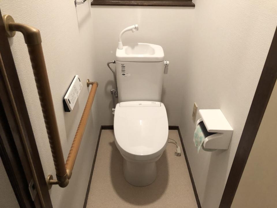 東広島市八本松町簡易水洗トイレリフォーム後