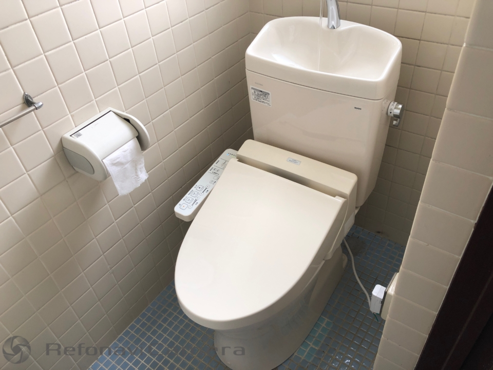 山県郡北広島町トイレ便器交換リフォーム