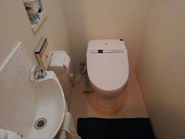 トイレ便器交換前