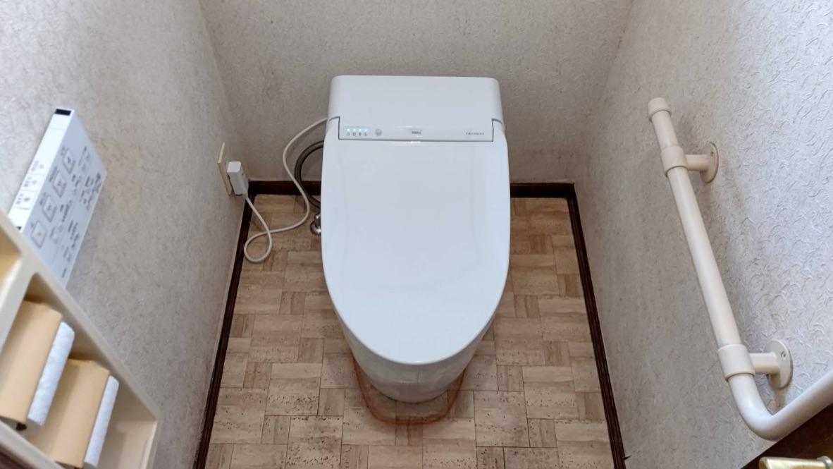 呉市神山トイレ便器交換後